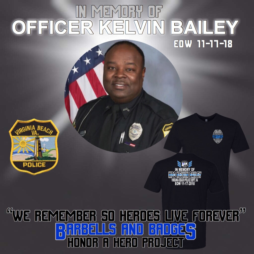 MPO Kelvin Bailey Memorial Shirt
