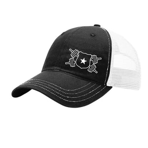 Black and White Snap Back