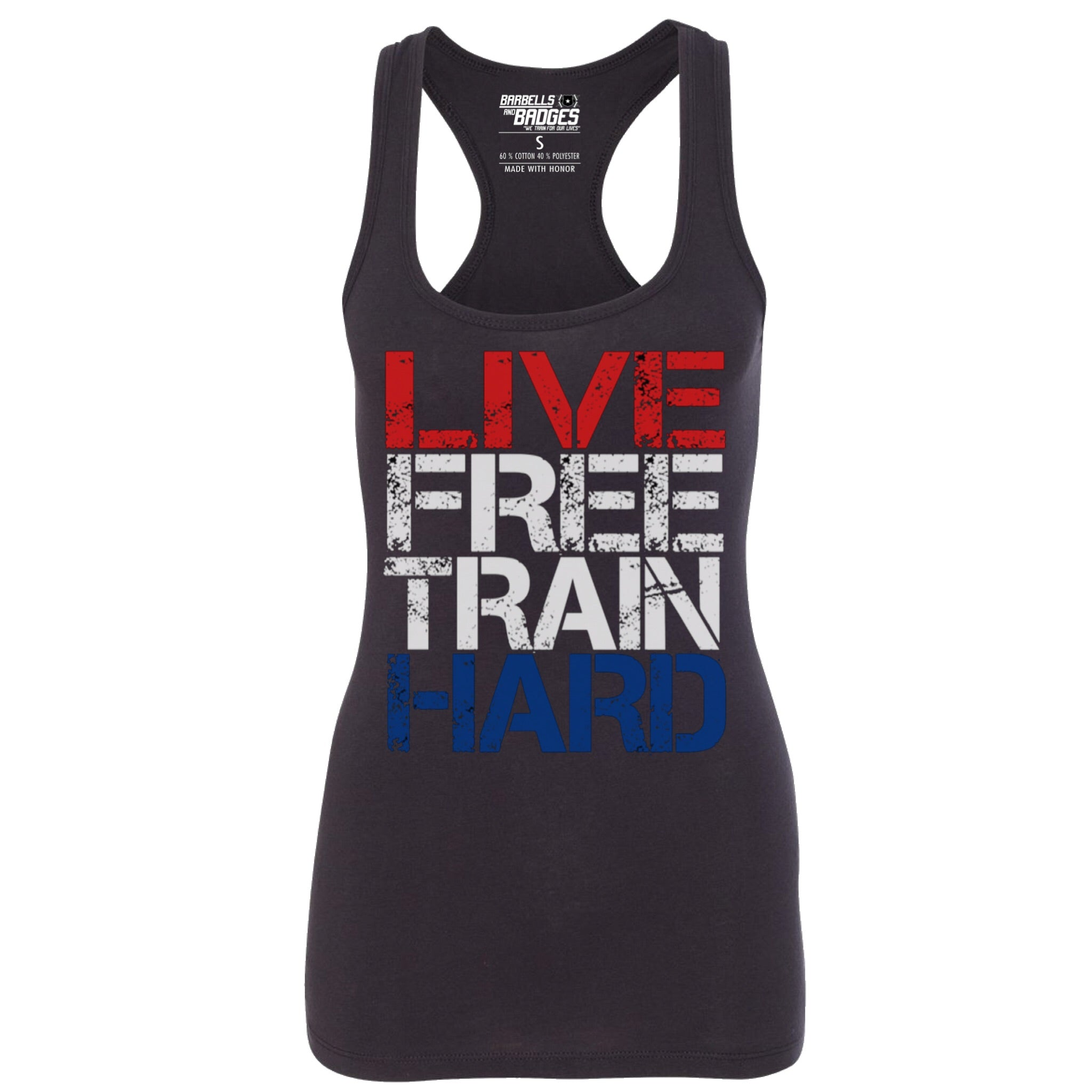 Women's Live Free Train Hard Tank