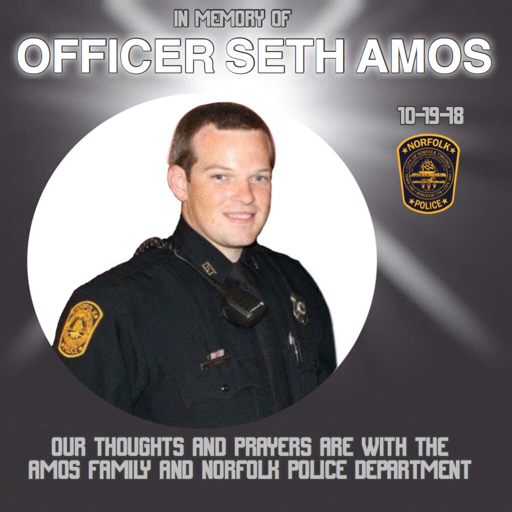 Officer Seth Amos Memorial Shirt