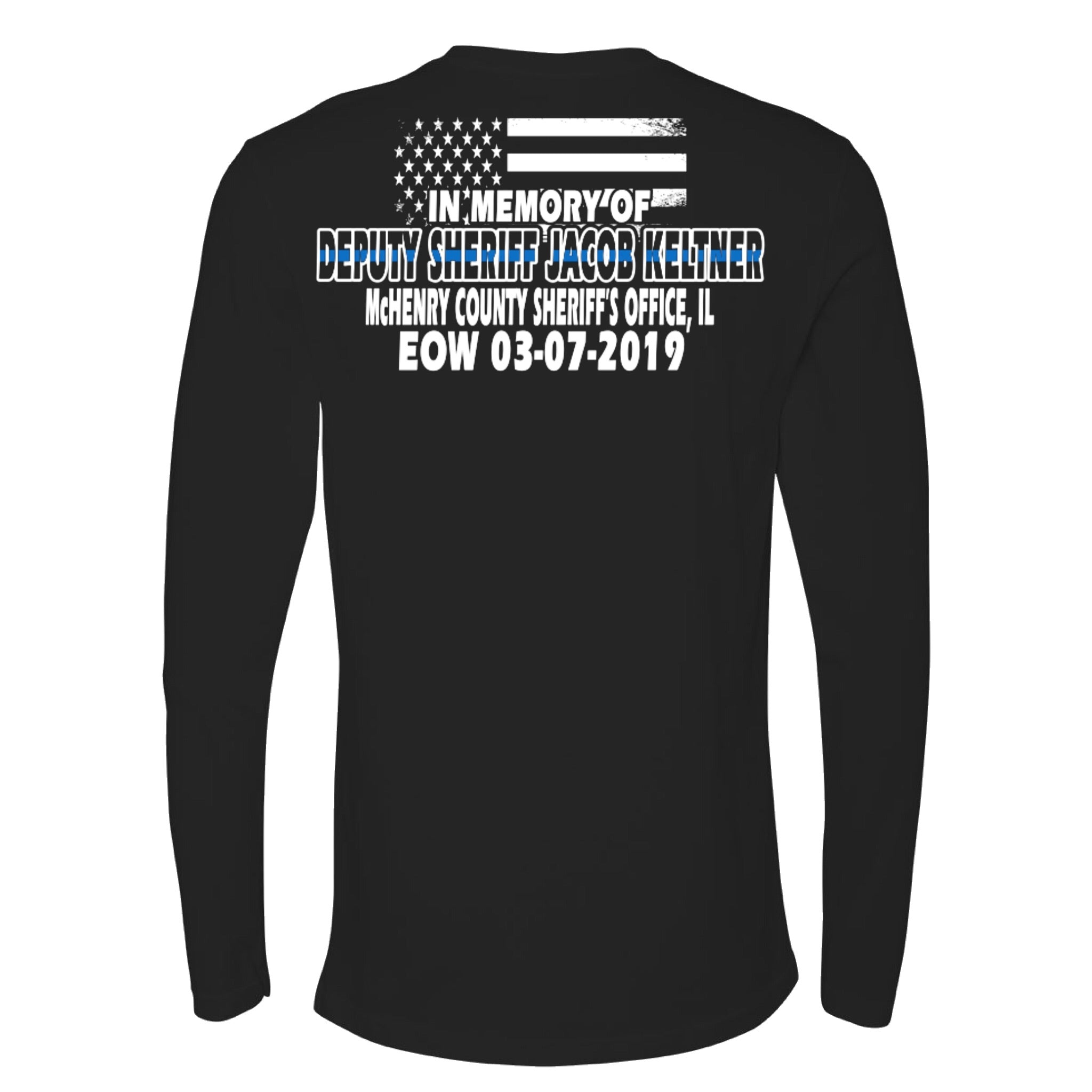 Deputy Sheriff Jacob Keltner Memorial Shirt
