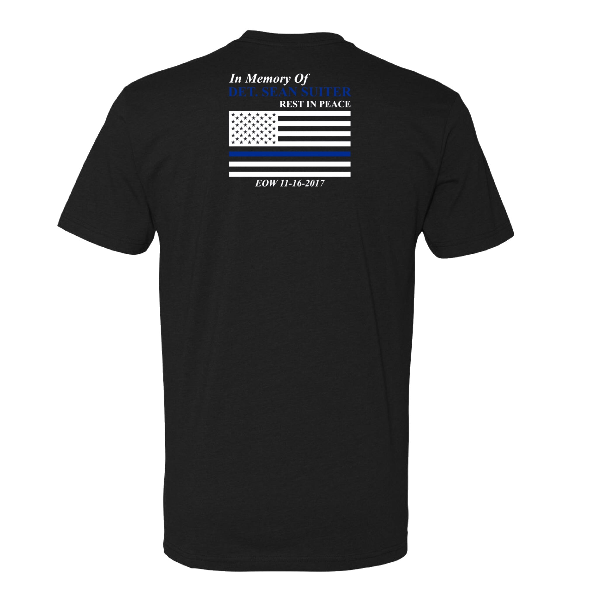 Detective Sean Suiter Official Memorial Shirt