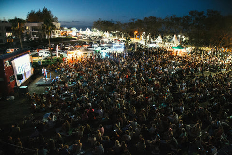 Byron Bay Surf Festival outdoor cinema