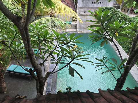View from my room in UBUD