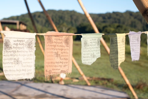 Dreamers and Drifters blog prayer flags
