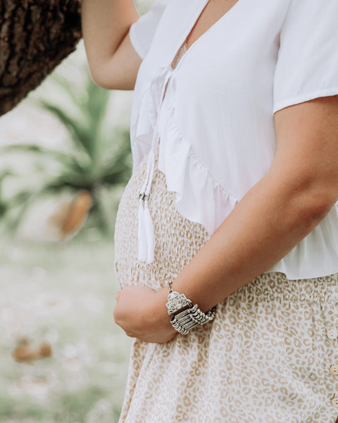 Beautiful bump-friendly styles for summer by Dreamers & Drifters