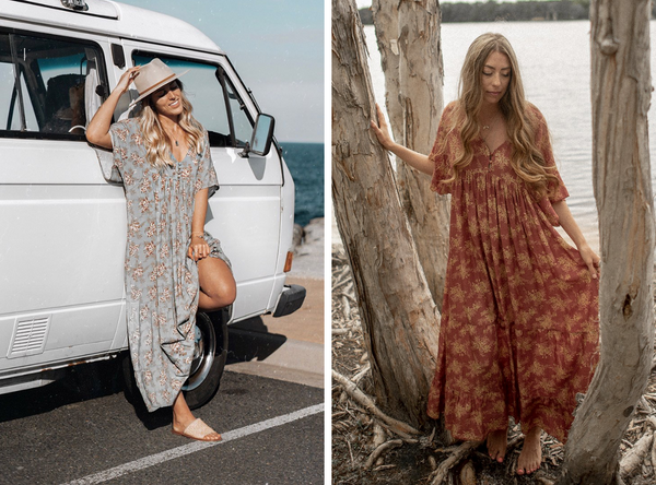 Moondance Maxi Dress at Dreamers and Drifters