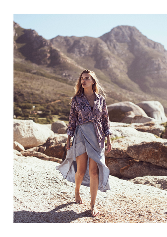 Dreamers and Drifters lookbook campaign shot in Cape Town