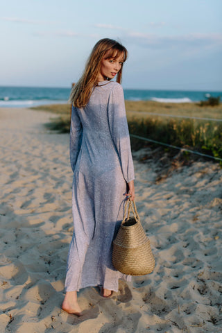 follow me to the beach wrap dress
