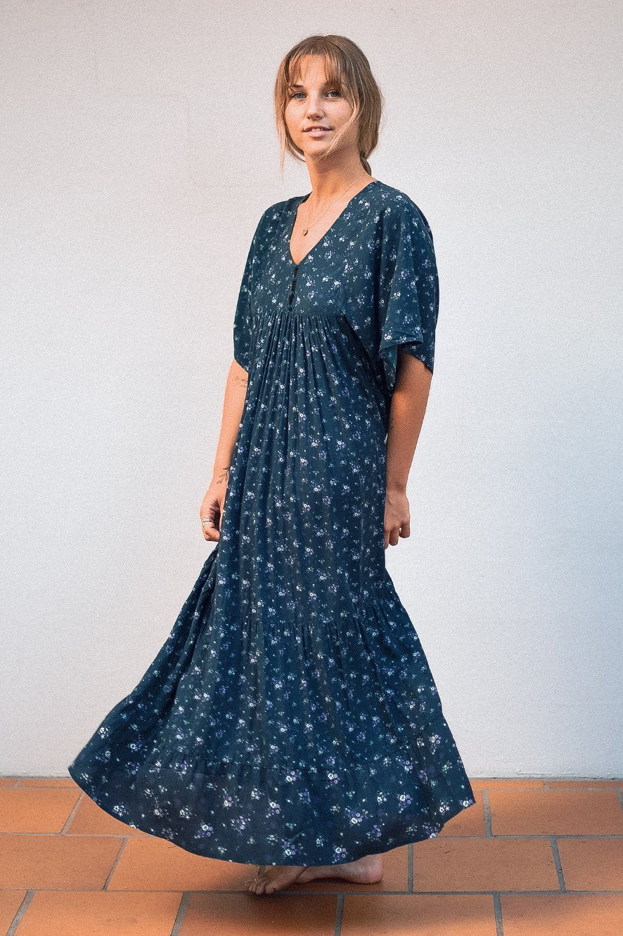 Maxi Dress Ditsy