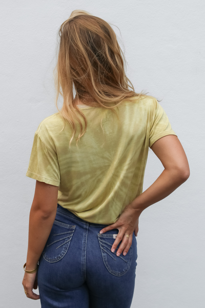 Honey Organic Bamboo Tee Tie-Dye