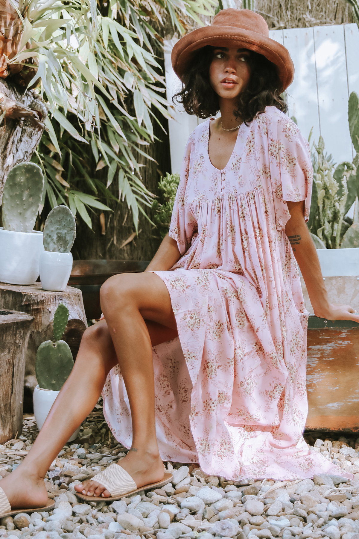 Rose Dreamer Maxi Dress Love Story