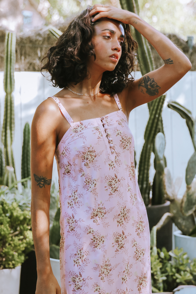 Rose Midi Dress Love Story