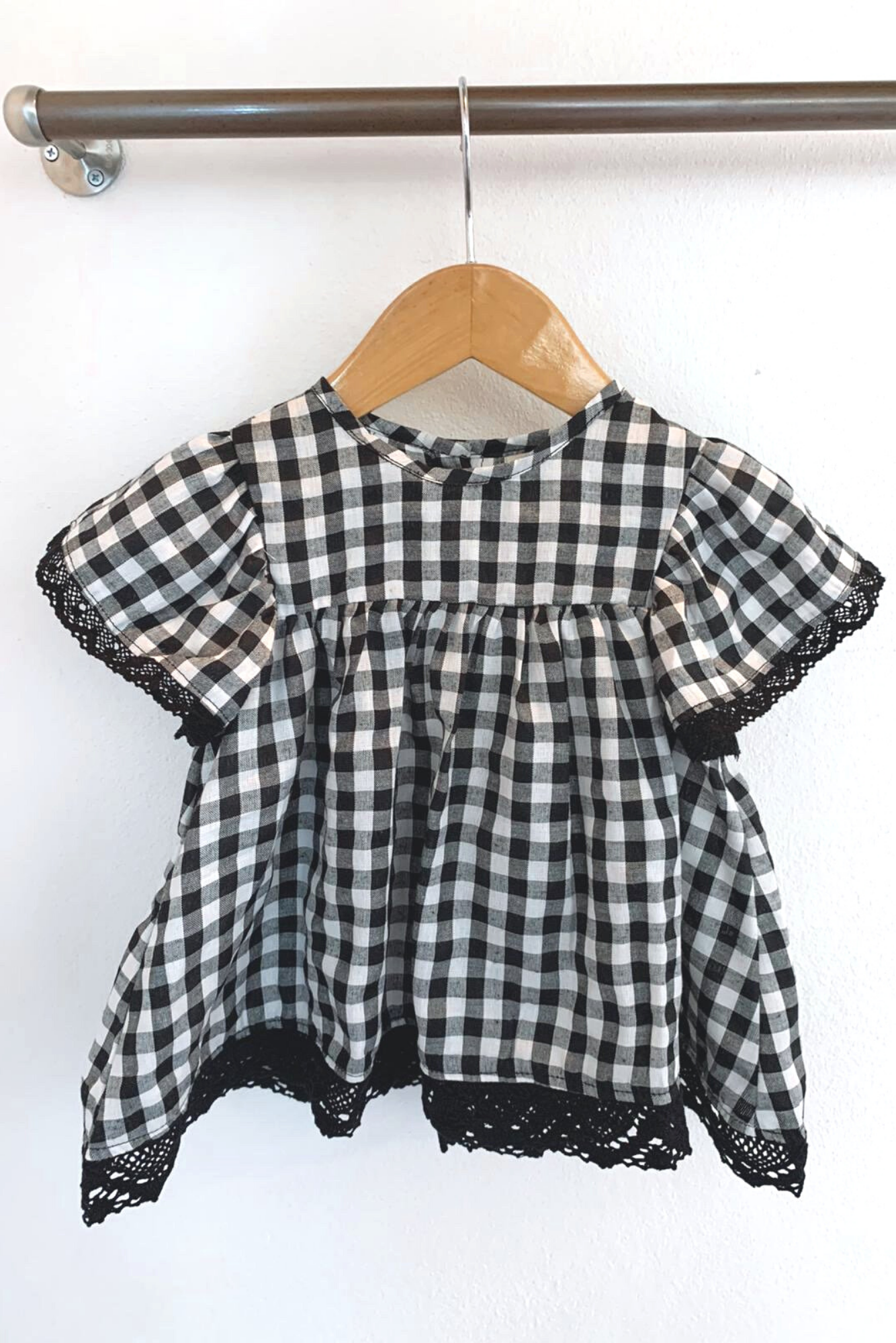 Cotton Baby Dress Gingham