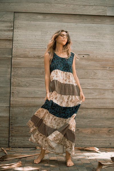 Heirloom Dress Las Flores at Dreamers & Drifters