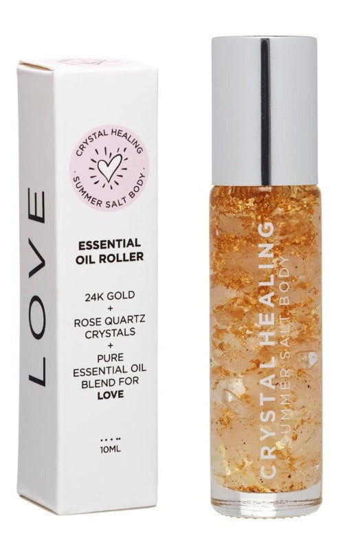 Love Essential Oil Rollers- Summer Salt Body at Dreamers & Drifters