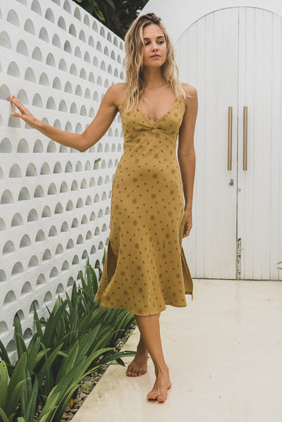 Honey Organic Cotton Slip Dress Nirvana