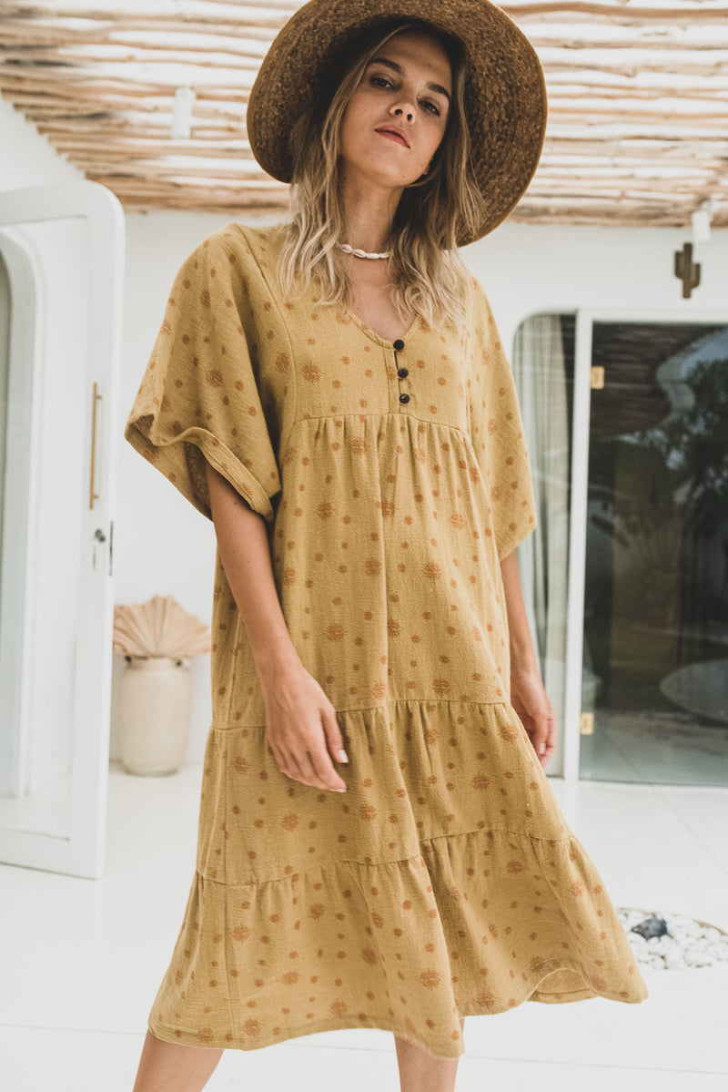 Honey Organic Cotton Tunic Dress Nirvana