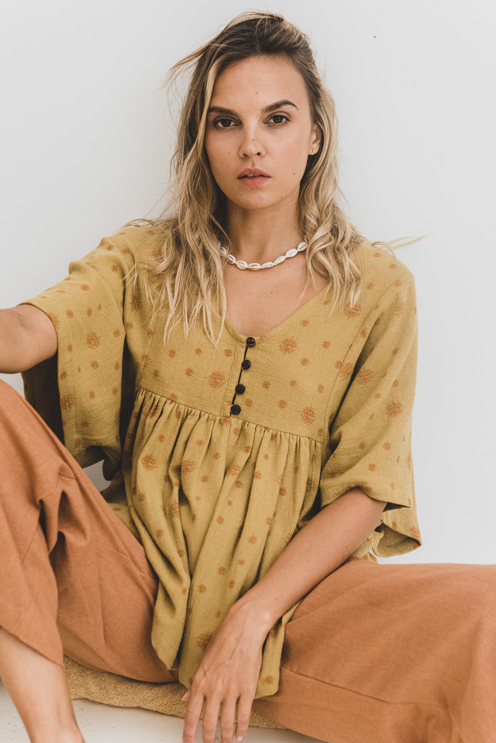 Honey Organic Cotton Top Nirvana