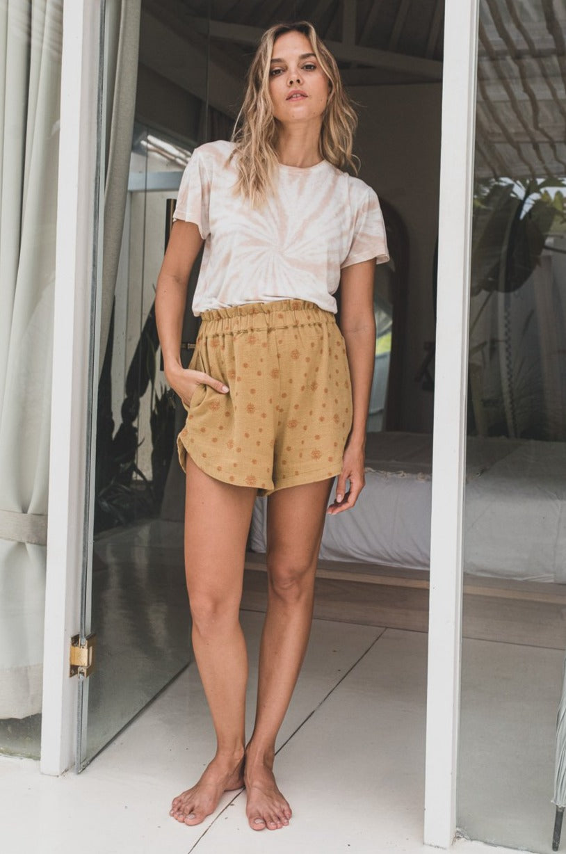 Honey Organic Cotton Paper Bag Shorts Nirvana