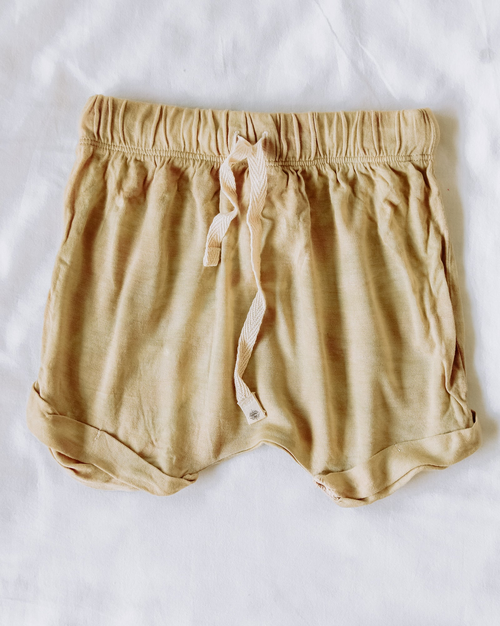 Honey Organic Bamboo Baby Shorts Tie-Dye