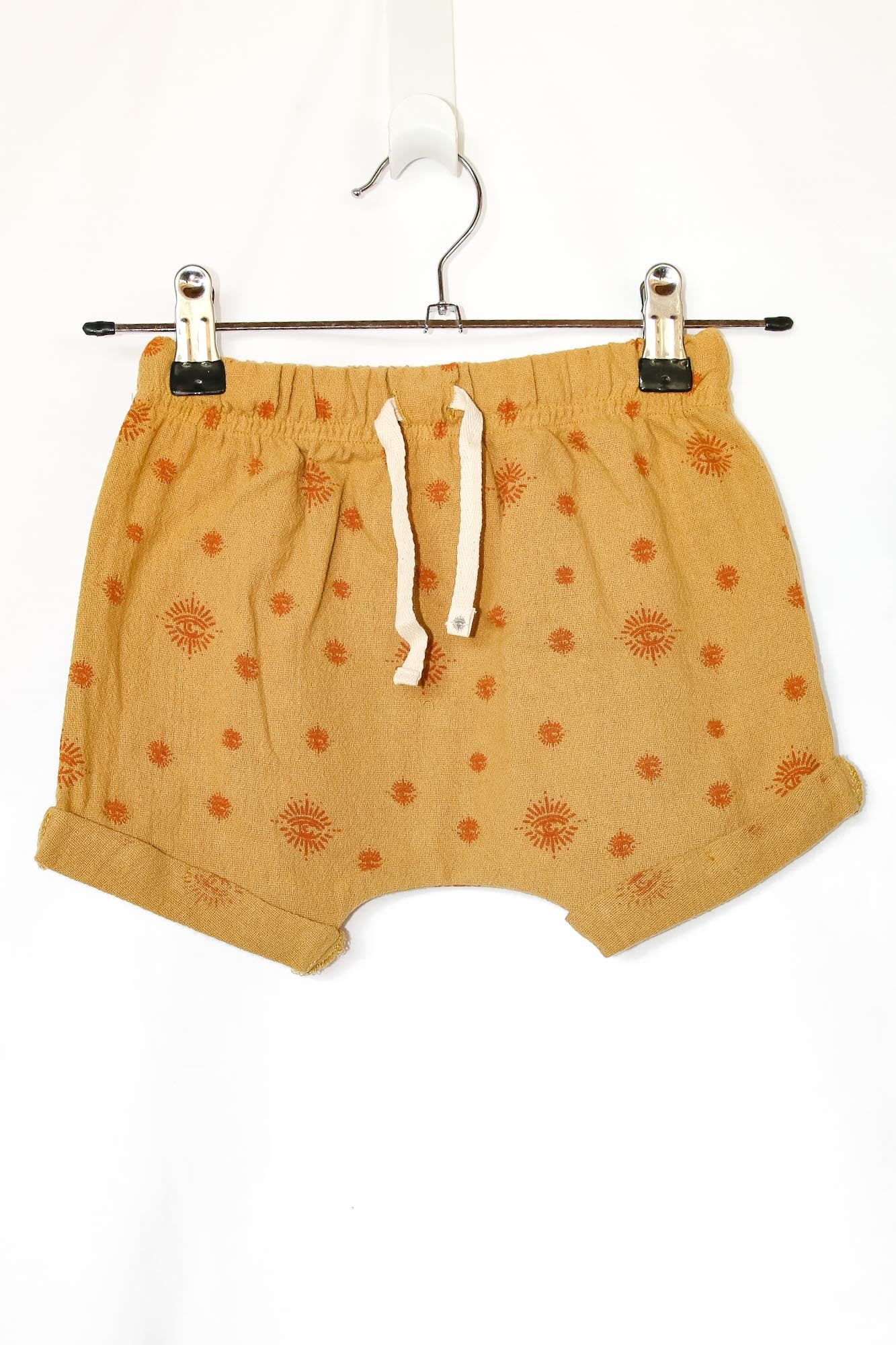 Honey Organic Cotton Baby Shorts Nirvana