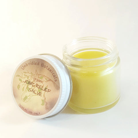 Organic Herbal Joint Relief Salve
