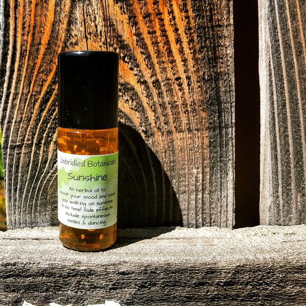 Sunshine Herbal Infused Roll On Oil