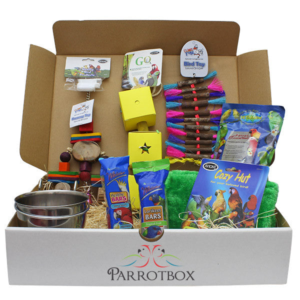Would you like your products showcased in our Parrotboxes?