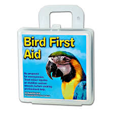 Bird First Aid Kits now available from Parrotbox