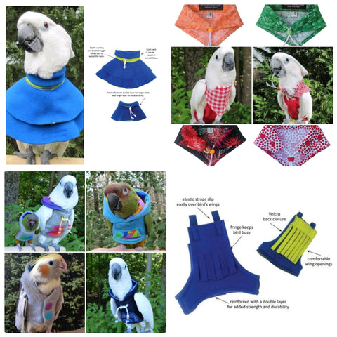 Have you seen our range of Avian Fashions Featherwear?