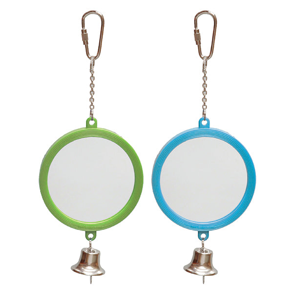 Kazoo Round Mirror with Bell - Large