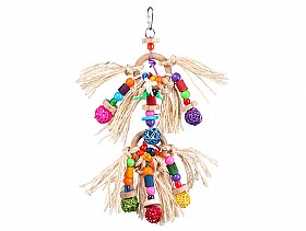 Parrotbox pet supplies sisal parrot toy, large bird toy australia