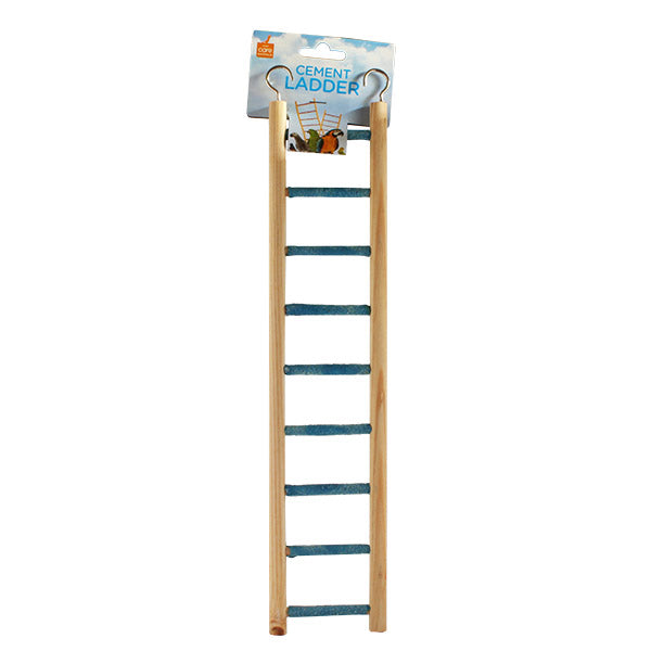 Parrotbox cement grit bird ladder 9 step