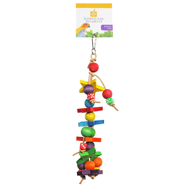 dice and block parrot toy - parrotbox pet supplies australia
