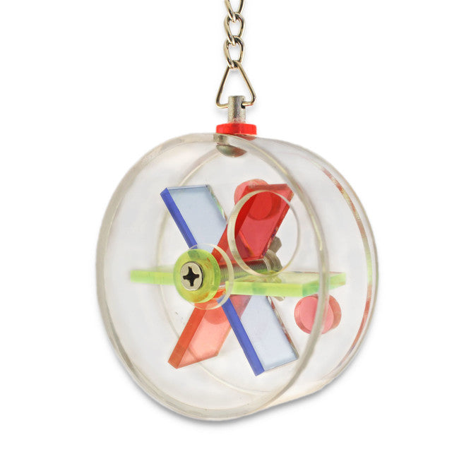 foraging wheel for small birds, parrotbox pet supplies