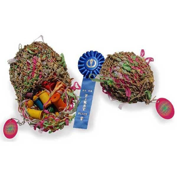 Sweet Feet Super Shredder Ball Small-PARROTBOX PET SUPPLIES