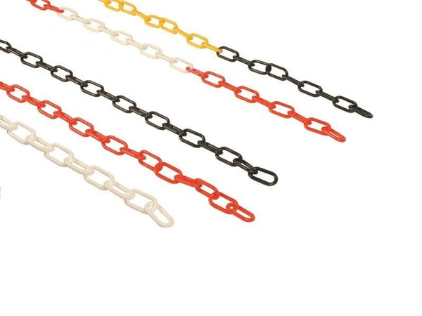 Plastic Chain 8MM Yellow (sold per metre)