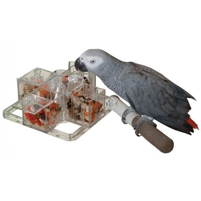 Foraging Carousel - Parrotbox Pet Supplies, Creative Foraging toy for birds