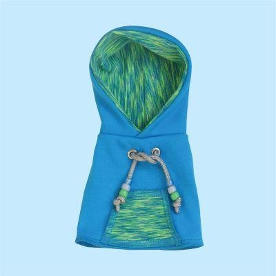 Avian Fashions Hoodie - Aqua Yoga-PARROTBOX PET SUPPLIES