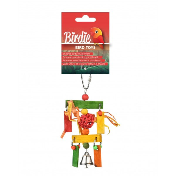 Hanging Frame Bird Toy-PARROTBOX PET SUPPLIES