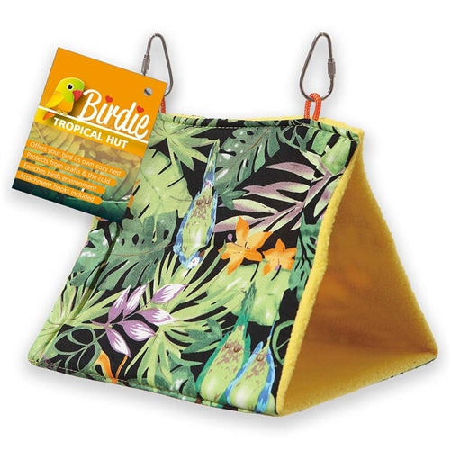 bird hut tropical design, parrotbox parrot supplies. suit large birds