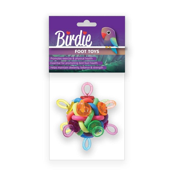 binkie ball foot toy, parrot toy, parrotbox pet supplies