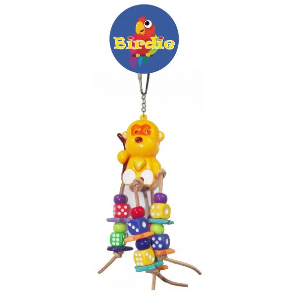 PARROTBOX PET SUPPLIES - BIRD TOY DICE AND BEADS
