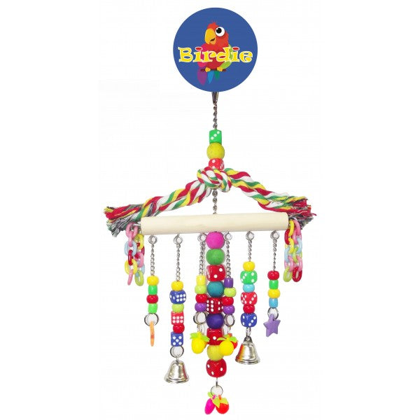 parrotbox pet supplies beads and dice bird toy
