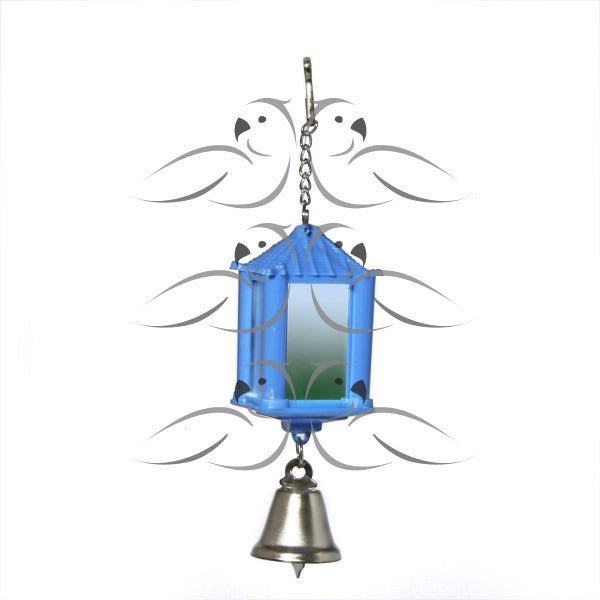 Mirror Lantern-PARROTBOX PET SUPPLIES