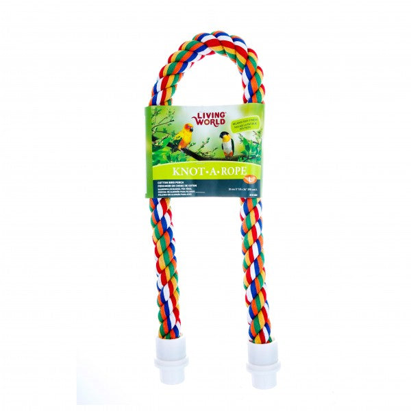 large bird rope perch parrotbox