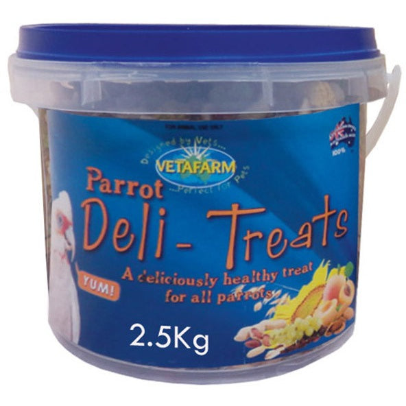 Deli Treats 2.5KG-PARROTBOX PET SUPPLIES