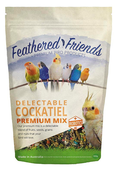 Premium Parrot Mix - Cockatiel (500gm)