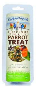 parrot treat bar, bird seed bar, parrot hanging treat